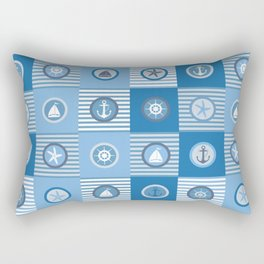 AFE Nautical Elements 3 Rectangular Pillow