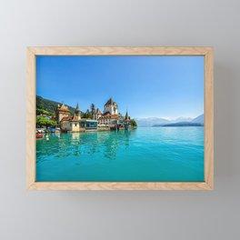 Switzerland Framed Mini Art Print