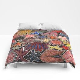 Sea stars and starfish Comforters
