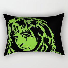 Alice Cooper - Green with envy Rectangular Pillow