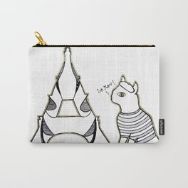Paris Kitty Carry-All Pouch