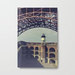 Fort Point, San Francisco Metal Print