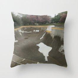 Skate the Bowl!  Throw Pillow