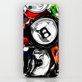 Pop Cans #5 iPhone Skin