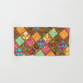 Patchwork Paisley Hand & Bath Towel
