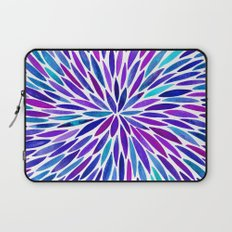 Lavender Burst Laptop Sleeve