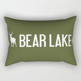 Bear Lake, Utah - Deer Rectangular Pillow