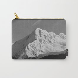 Portage Valley Mountain Glacier - B & W Carry-All Pouch