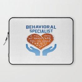 Behavioral Specialist Laptop Sleeve