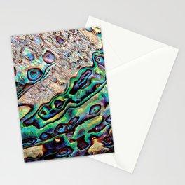Paua Shell, the Sea Opal Stationery Cards
