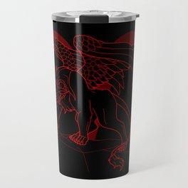 Monstrous Zodiacs: Aries, the Criosphinx Travel Mug