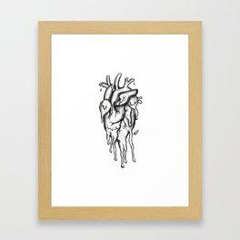Dying inside Framed Art Print