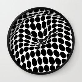COME INSIDE (BLACK) Wall Clock