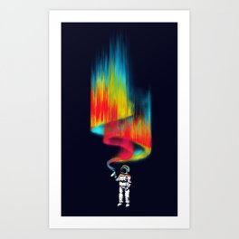 Space vandal Art Print