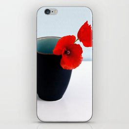 Morning Poppies iPhone Skin