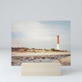 Barnegat Lighthouse Long Beach Island New Jersey Shore, Old Barney Light house LBI Mini Art Print
