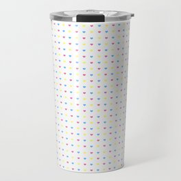 '80s Hearts - Back to Basics Travel Mug