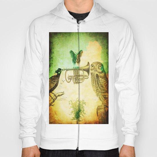 Music of birds Hoody