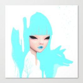 snow queen Canvas Print