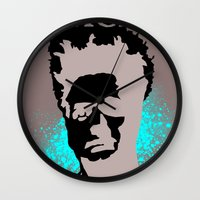 "martell Wall Clocks featuring ""JACK"" ~ Eraserhead Jack Nance ~ David Lynch ~ Twin Peaks by DJ Lynchpin"