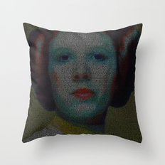 Alderaan Girl Throw Pillow