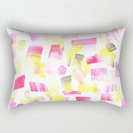 180515 Abstract Watercolour 1   Watercolor Brush Strokes Rectangular Pillow
