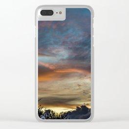 Last Clouds Clear iPhone Case