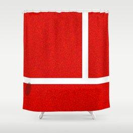 """""""IN"""" – Hawk-Eye - Sand Shower Curtain"""