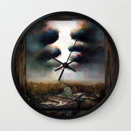 Way to the Temple Wall Clock