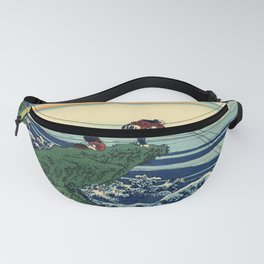 "Hokusai (1760-1849)  ""Kajikazawa in Kai Province"" Fanny Pack"