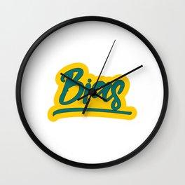 Famous & Fabulous Bias Tshirt Design Bias Wall Clock