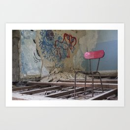 School's Out Forever Art Print