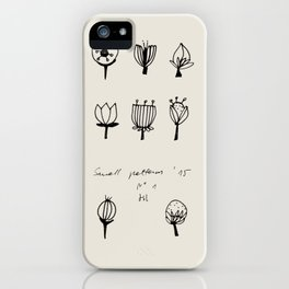 plants2 iPhone Case