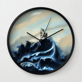 Ruff Seas Wall Clock