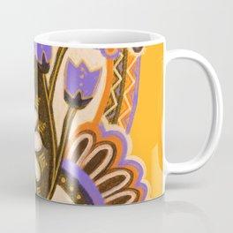 Psychedelic Flowers Coffee Mug