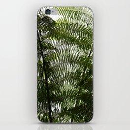 Fern Wall iPhone Skin