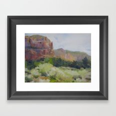 Sedona Framed Art Print