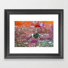 Duck Landing (Sounds like the fowl version of Knots...) Framed Art Print