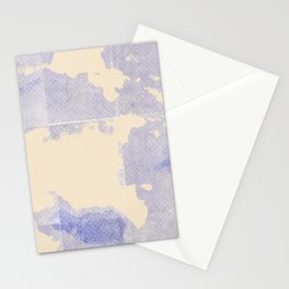 Cloudy Pixel Stationery Cards