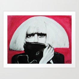 Mons†er Art Print