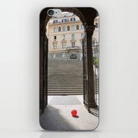 ballon iPhone & iPod Skins featuring Red Ballon by Danielle W