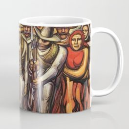 From the Dictatorship of Porfirio Díaz to the Revolution, The People in Arms by David Siqueiros Coffee Mug