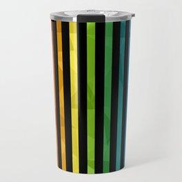 BLACK + RAINBOW Travel Mug
