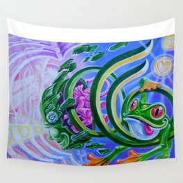 Spring Time By Adam France Wall Tapestry