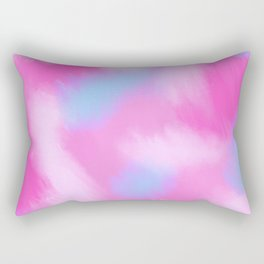 Cotton candy clouds Rectangular Pillow