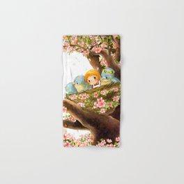 A Spring Scene Hand & Bath Towel