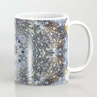 kaleidoscope Mugs featuring Kaleidoscope by Tina Sieben