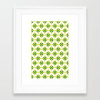 morrocan Framed Art Prints featuring MORROCAN AVOCADO by talena