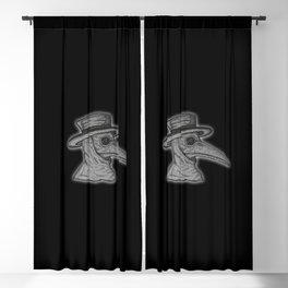 Plague Doctor Blackout Curtain