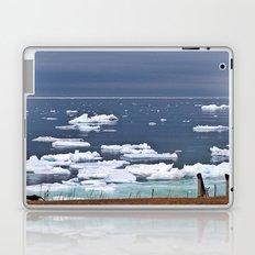 Icebergs on a Calm Sea Laptop & iPad Skin